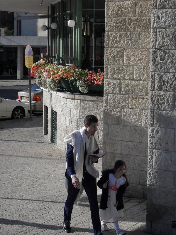 Иерусалим. С колёс автобуса - Надежда