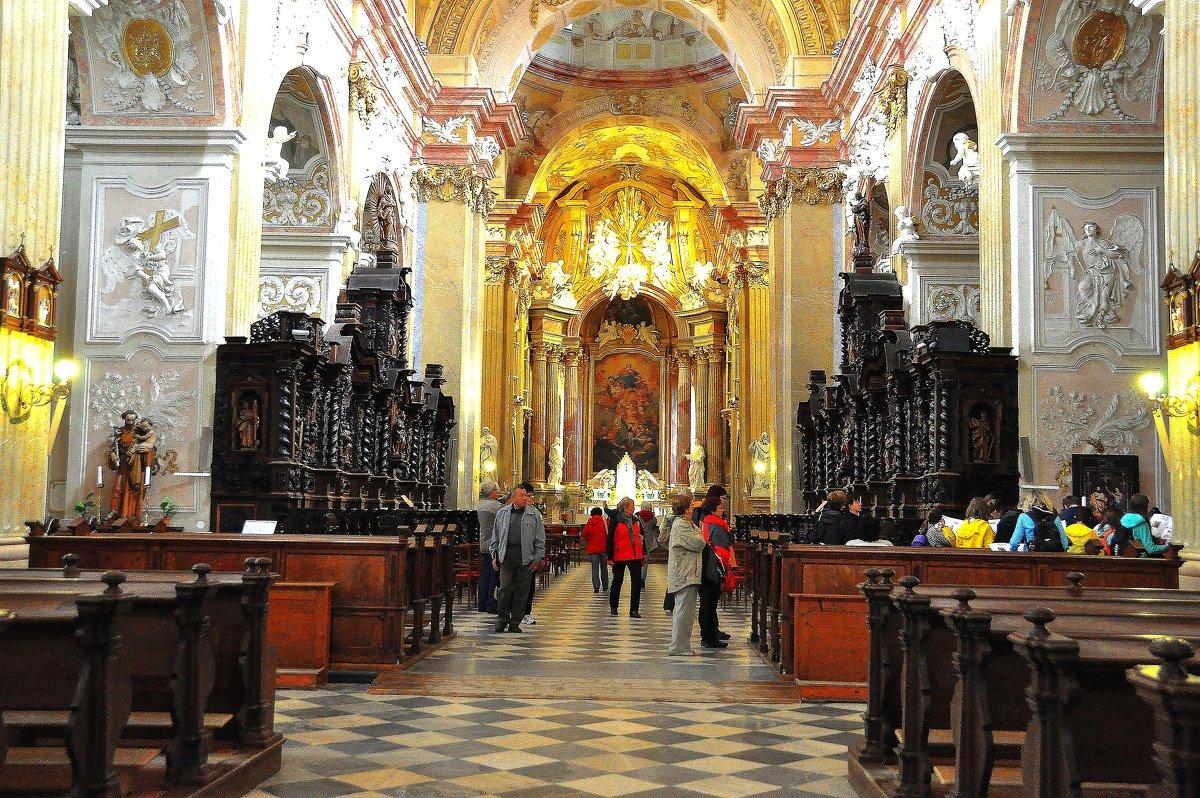 Велеградский монастырь(интерьер) - Евгений Дубинский