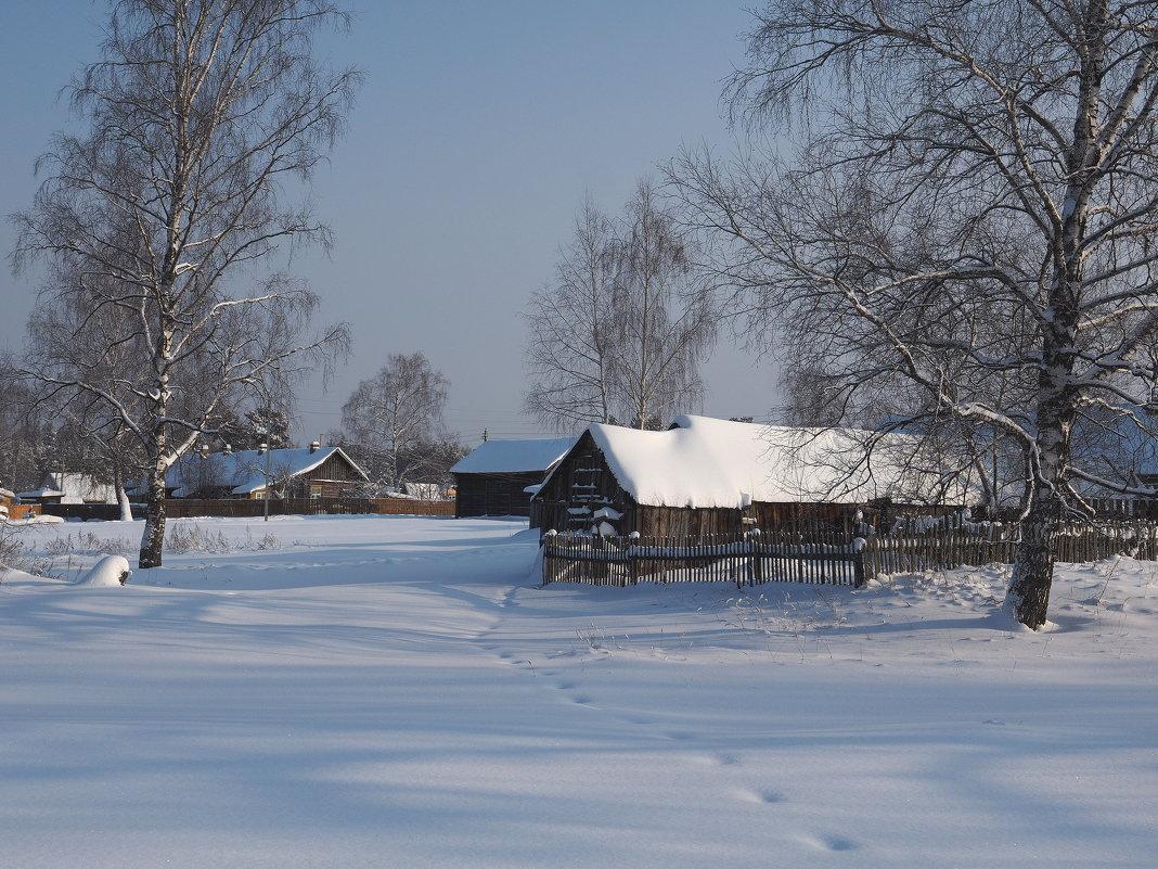 Зима в деревне - Андрей Зайцев