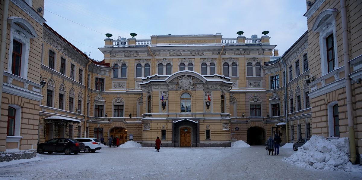 Здание Капеллы - Валентина Папилова