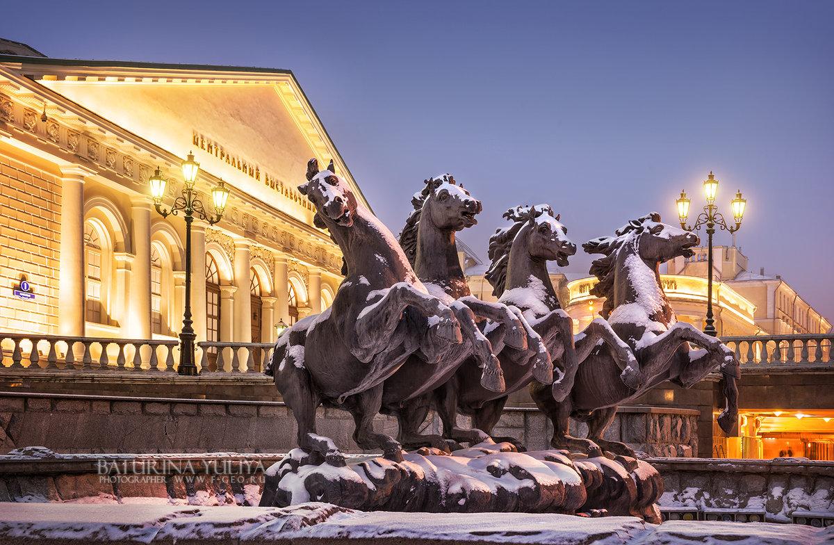 Занесенные снегом лошадки - Юлия Батурина
