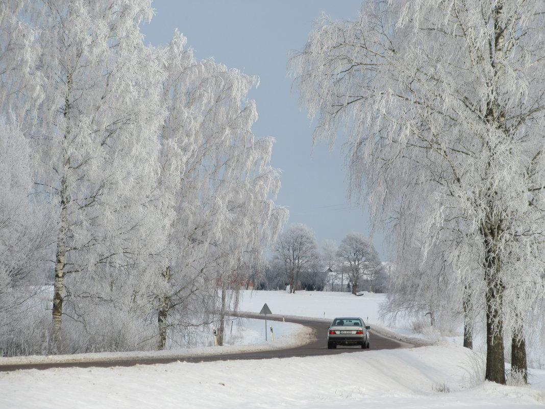 Зимняя дорога - Mariya laimite