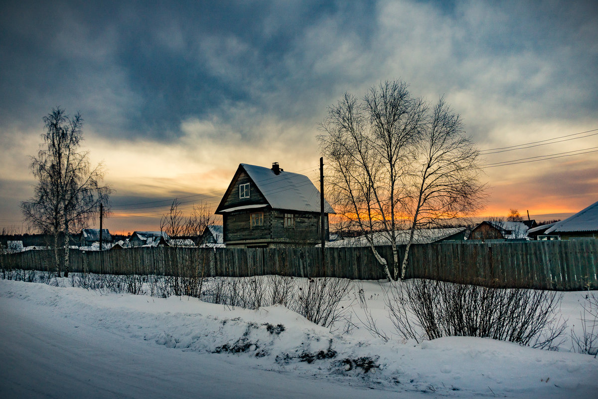 Зимний вечер (1) - Pavel Kravchenko