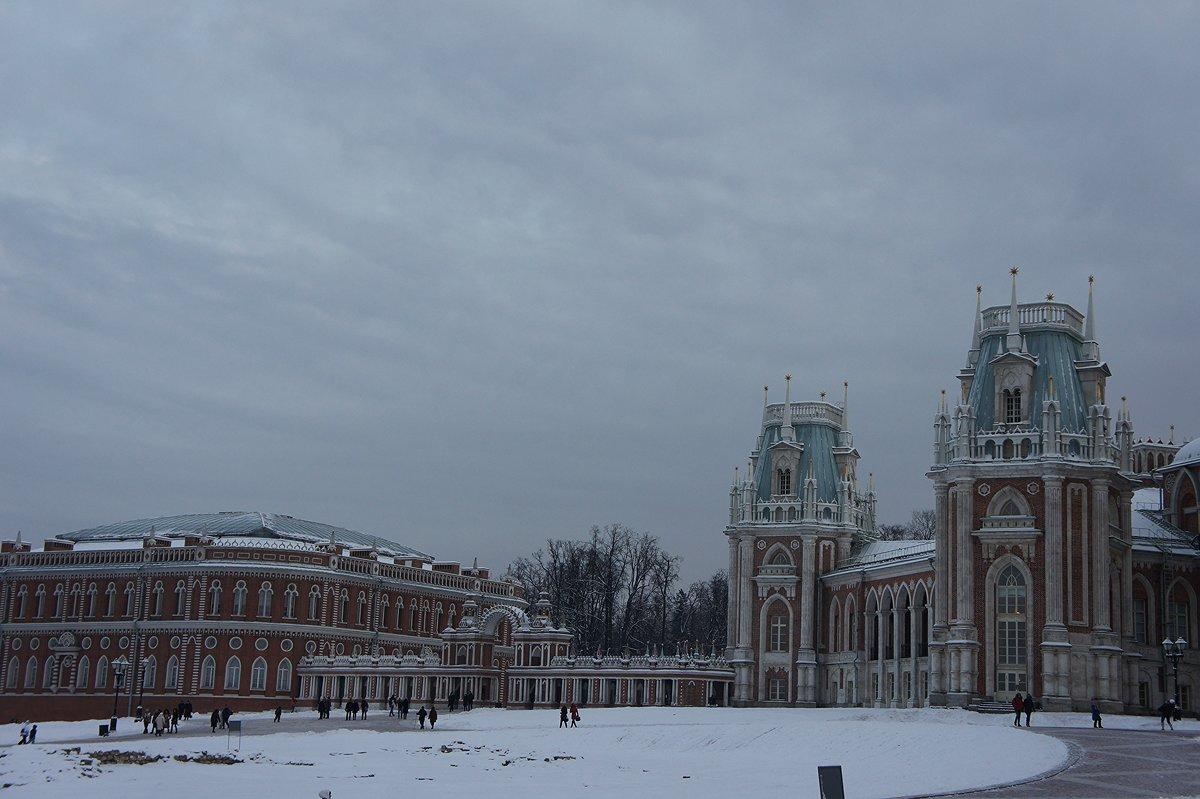 Вид на Большой дворец и Кухонный корпус (Хлебный дом) - Елена Павлова (Смолова)