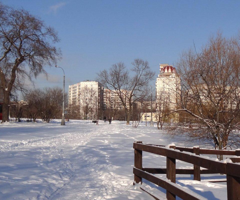 зима в Коломенском - Валентина. .