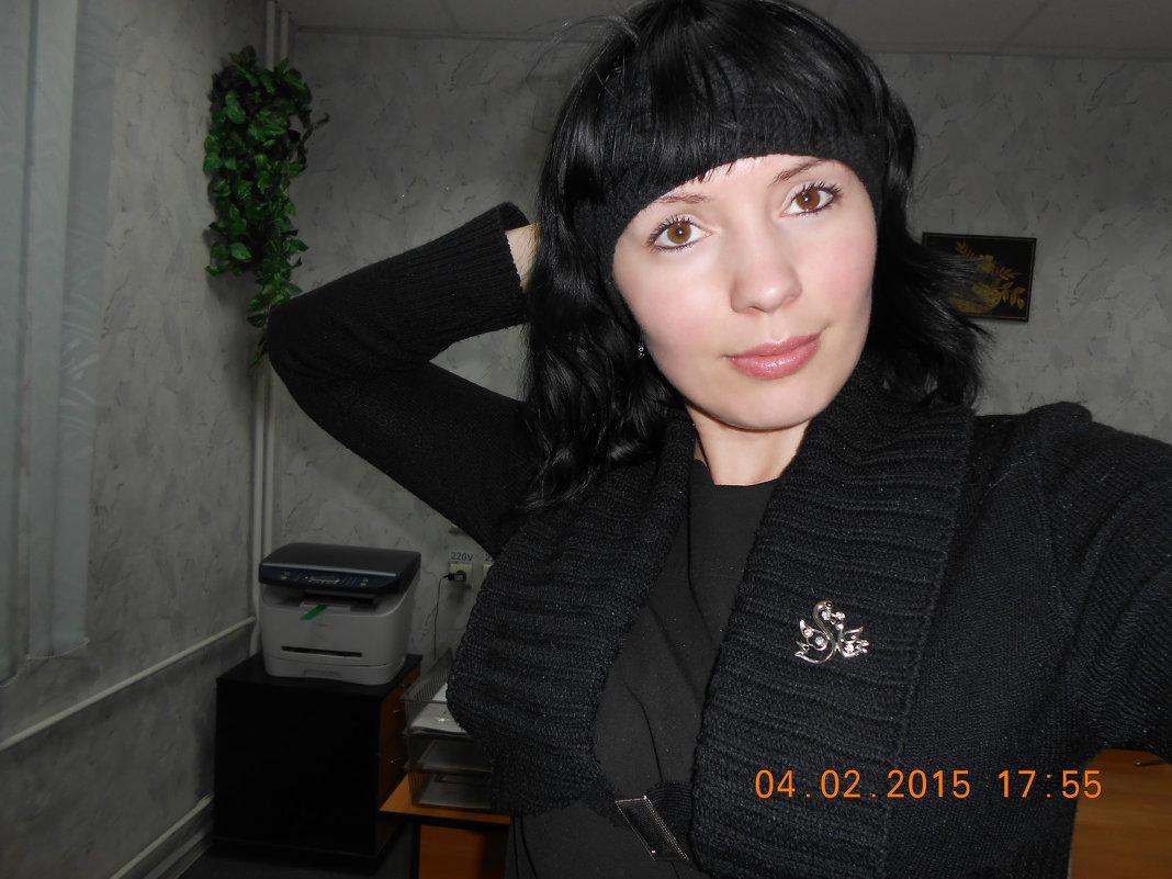 На работе - Елена Савченко