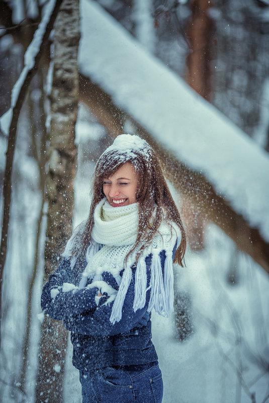 фйотосессия в зимнем лесу - Юлия Рожкова