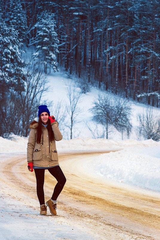 Зимняя прогулка - Максим Калинин