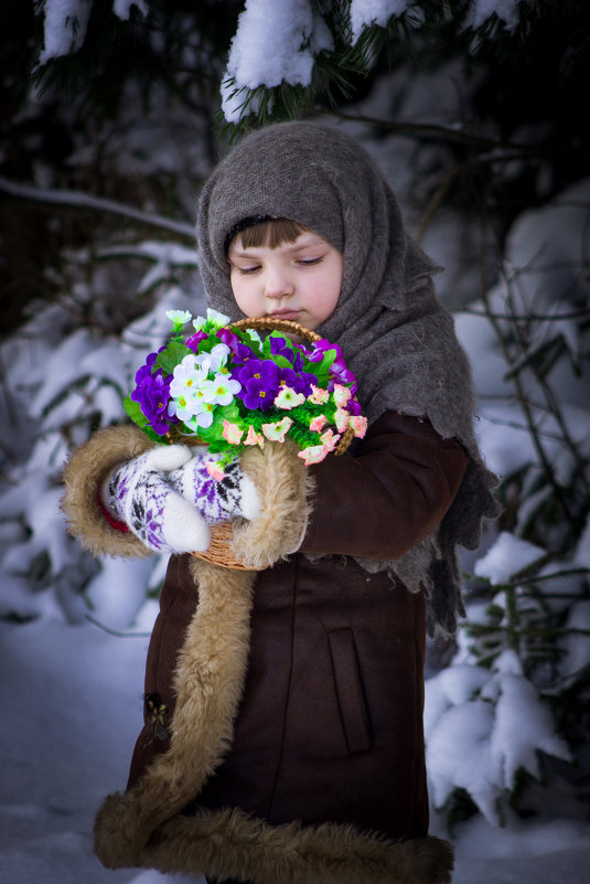 "Фотосессия ""12 месяцев"" - Татьяна Кудрявцева"