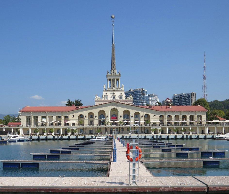 Морской вокзал Сочи - Вера Щукина