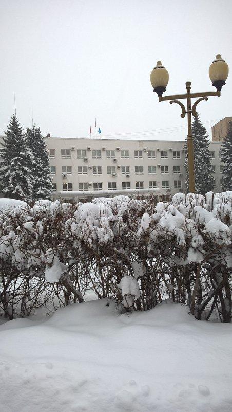 Зима в городе - Елена Семигина