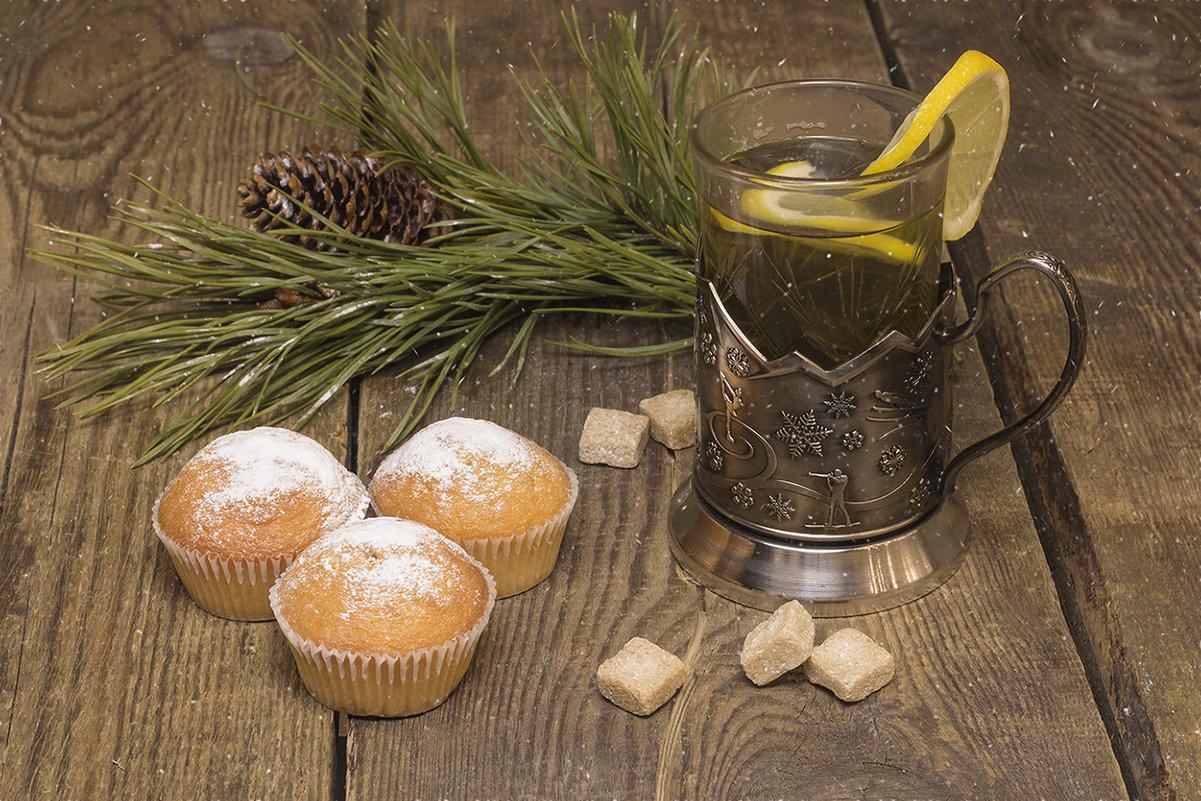 Чай с кексами... - Наталья
