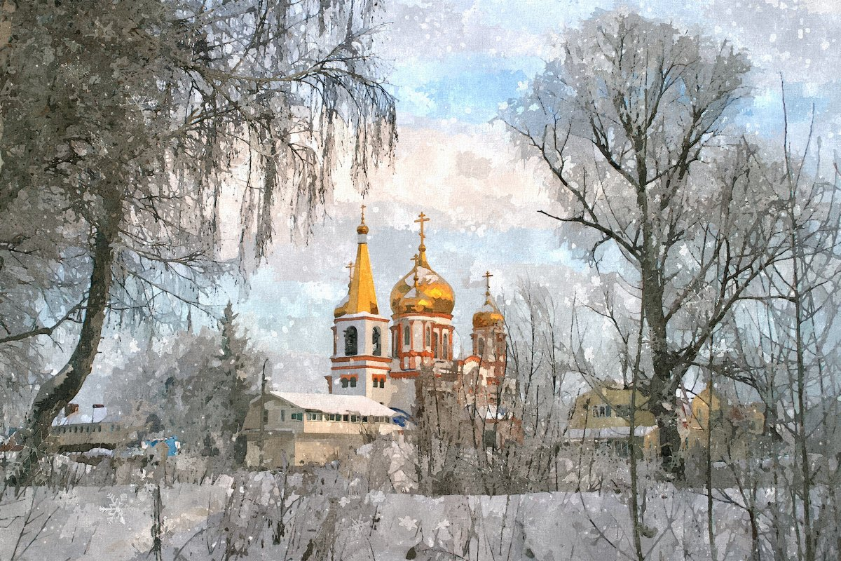 Люблю высокие соборы ... - Евгений Юрков