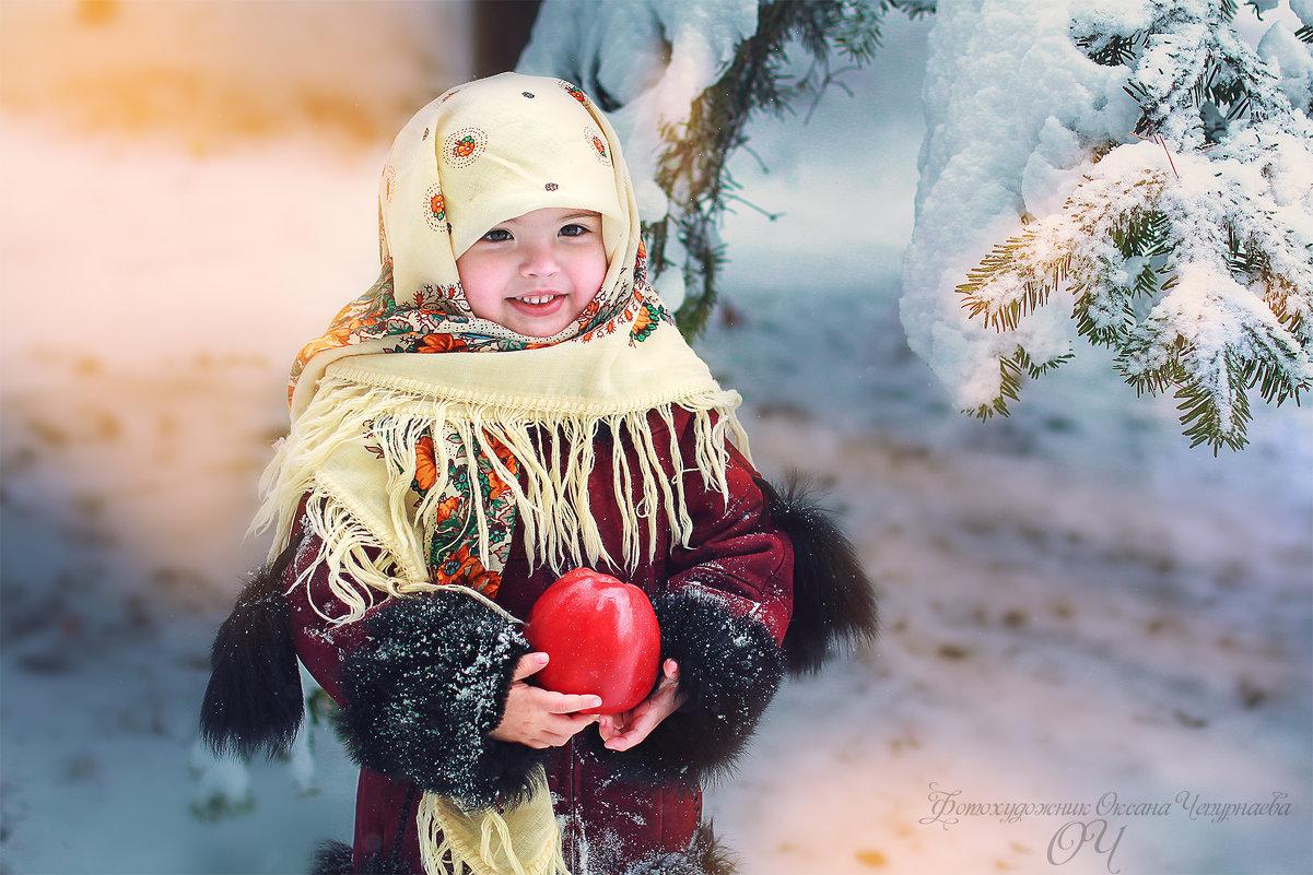 Русская красавица - Оксана Чепурнаева