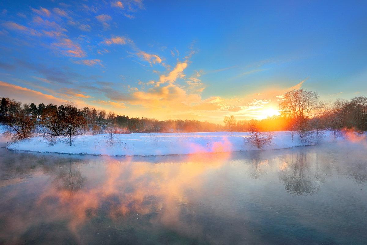 Очень морозный закат...3 - Андрей Войцехов