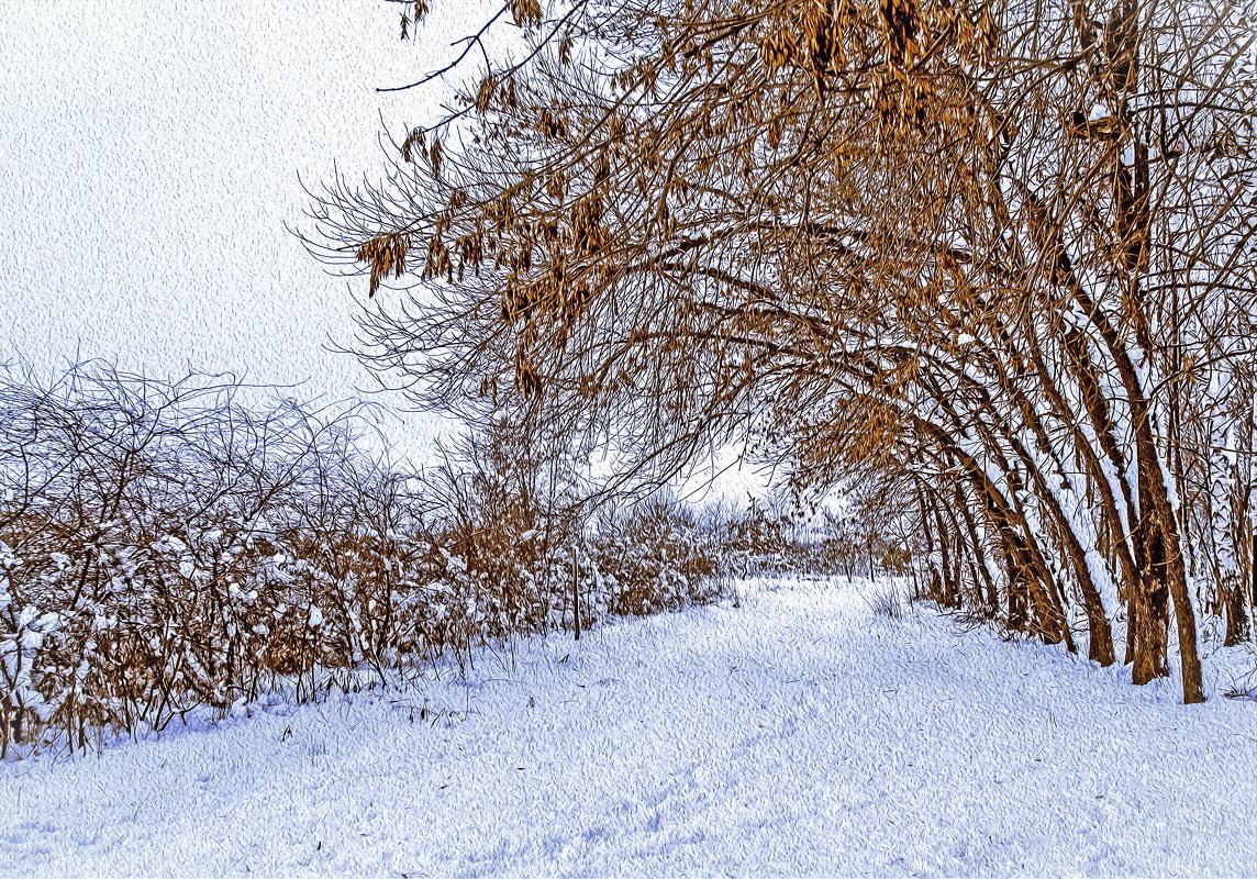 Снег - Мария Богуславская