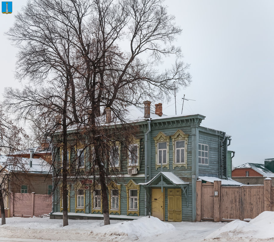 Симбирск (Ульяновск). Дом О. Г. Зерновой - Алексей Шаповалов Стерх