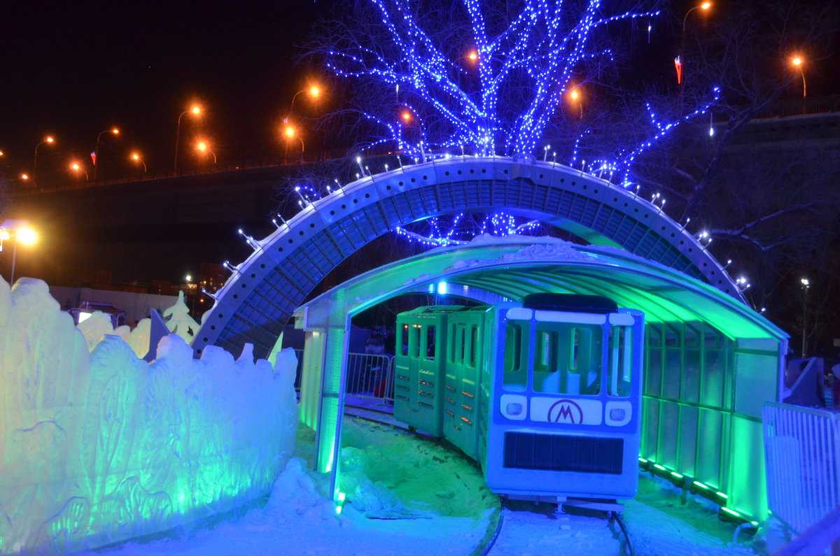 Омское метро - Savayr
