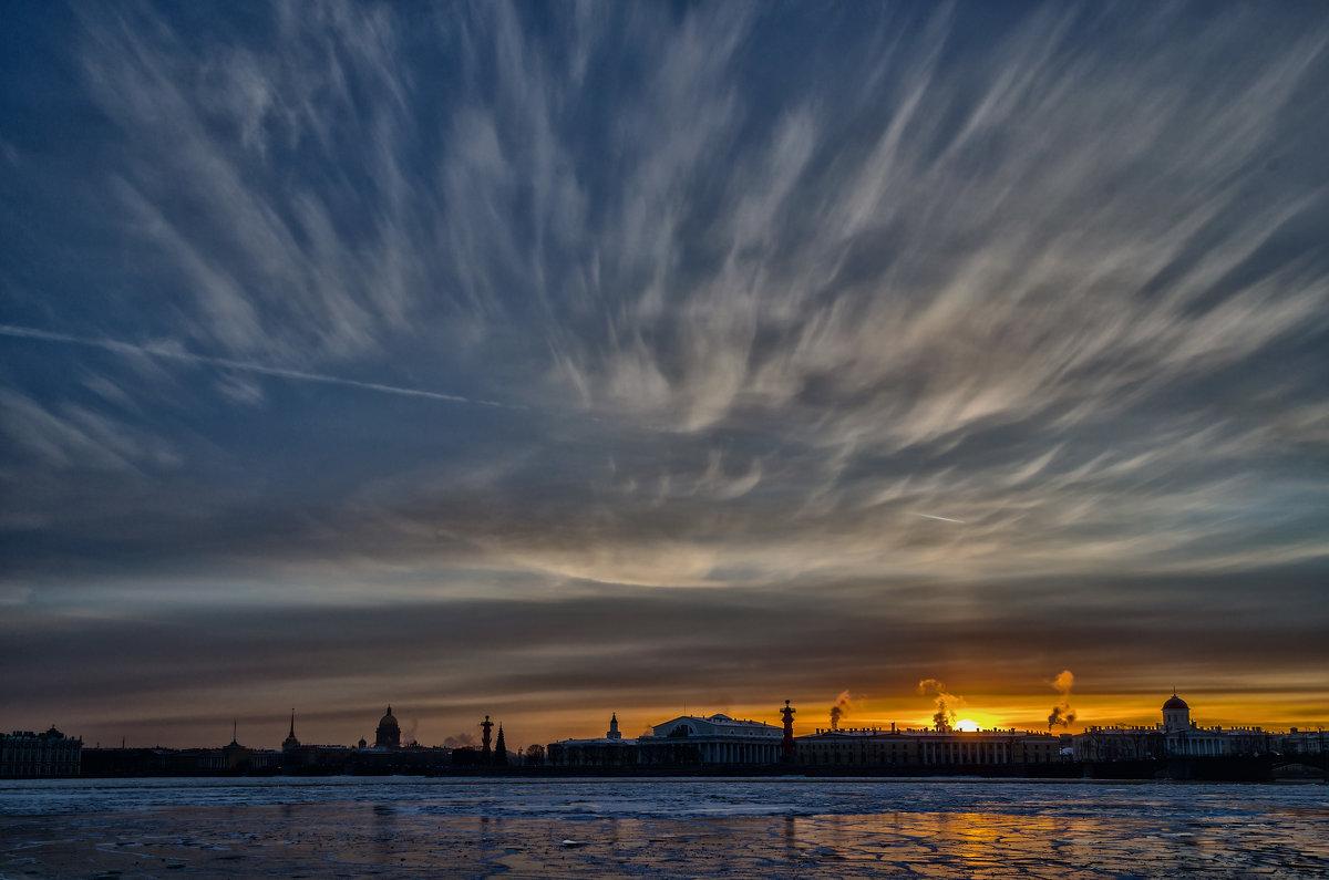 Закат в городе - Константин Бобинский