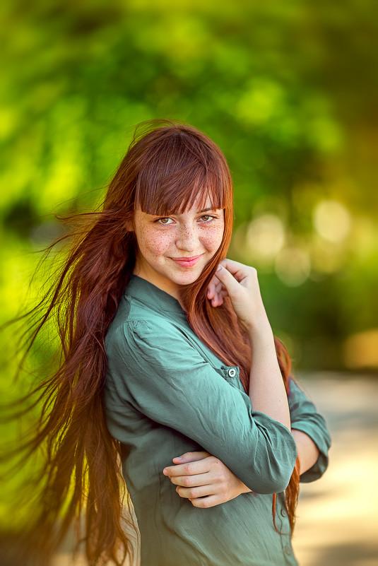 ...о той девушке, которую любит солнце... - Валерий Худушин