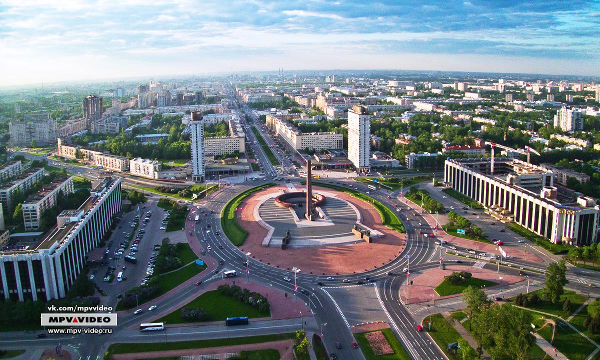 Московский район спб рисунки