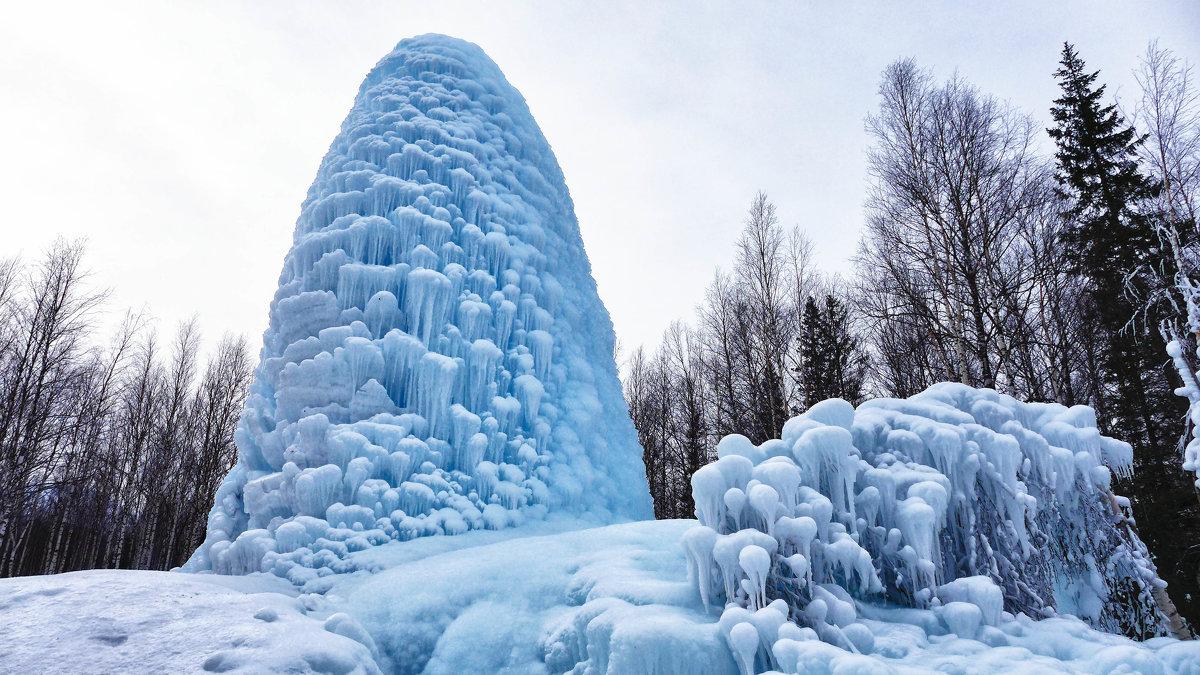 Ледяной фонтан - Стил Франс