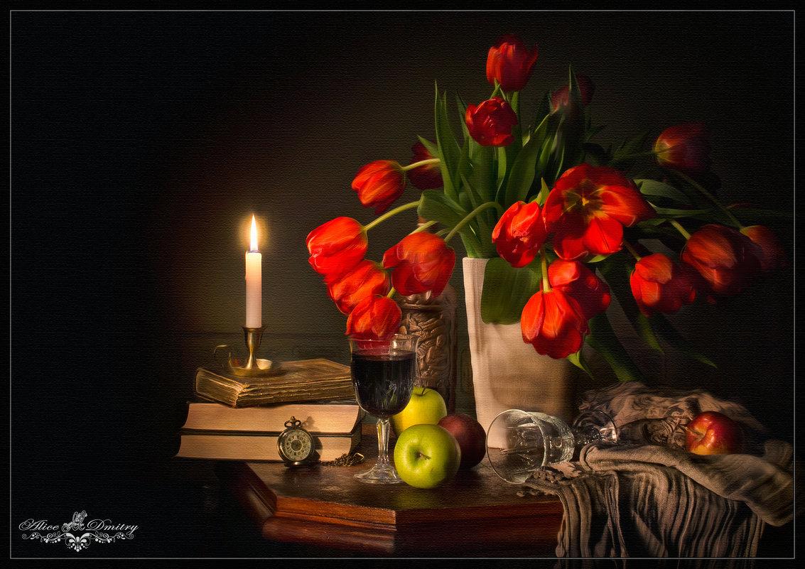 С тюльпанами - Дмитрий Motorin