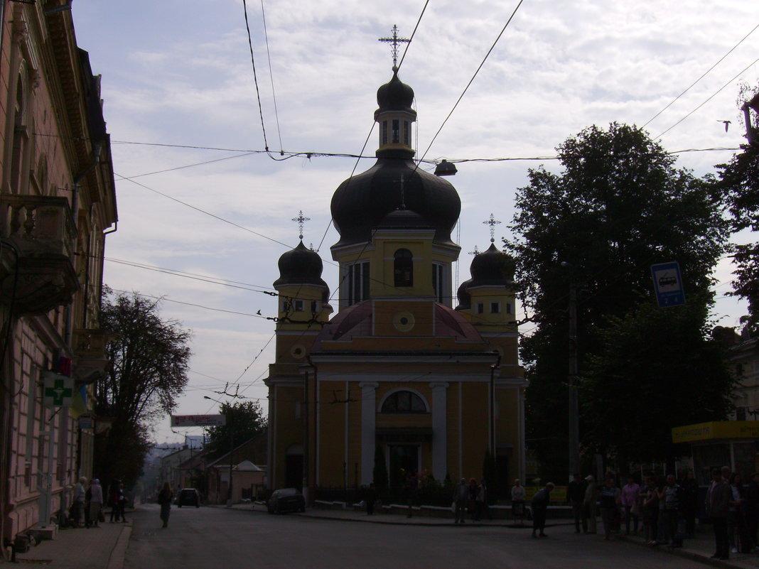 Греко - католический  храм  в  Черновцах - Андрей  Васильевич Коляскин