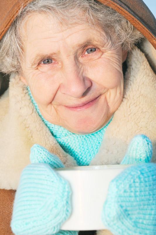 elderly woman - Галина Валюшко