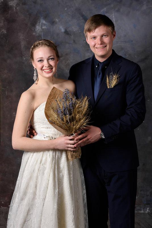 Свадебная студийная фотосессия - Юлия Атаманова