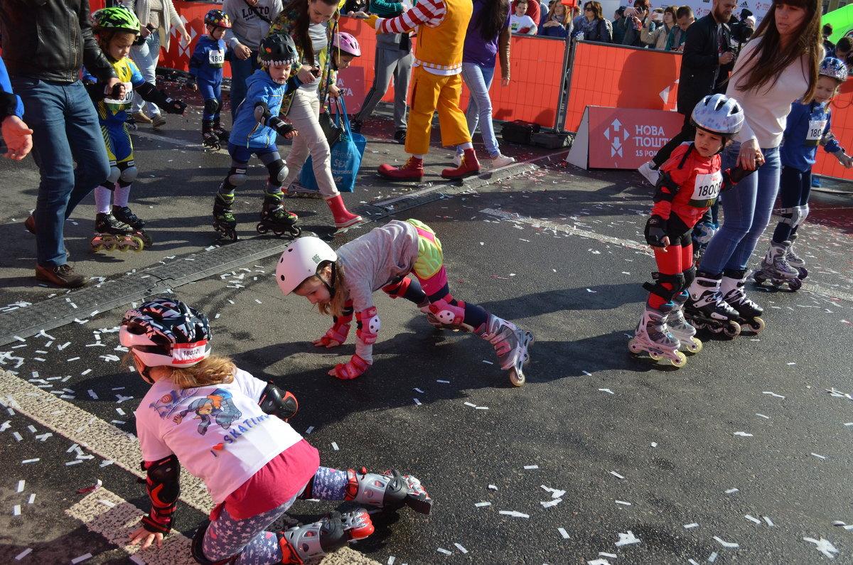 Упали перед финишем - Ростислав