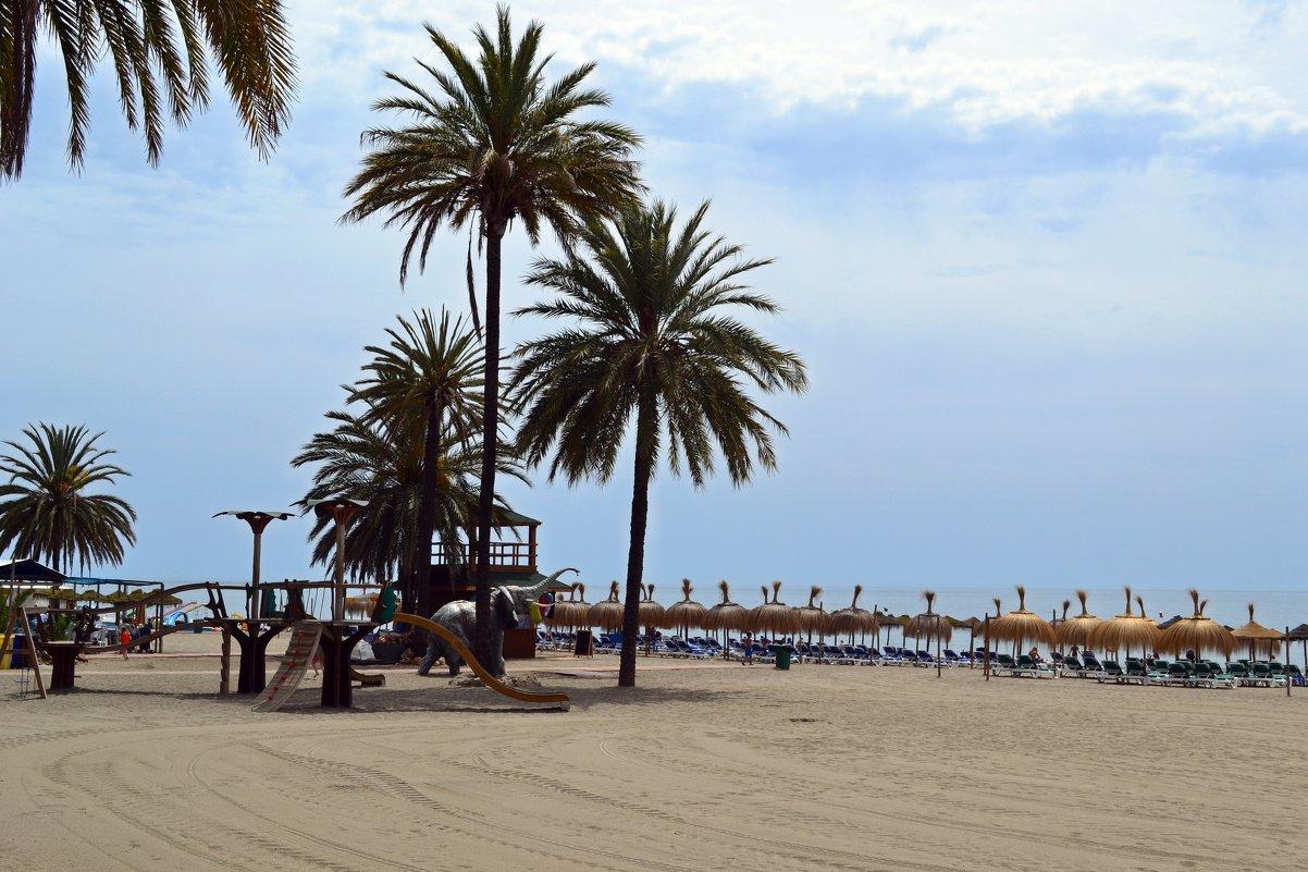 Пустынный пляж - Ольга