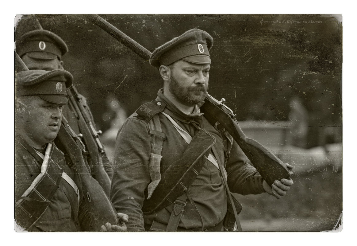 Пехотинцы.... - Виктор Перякин