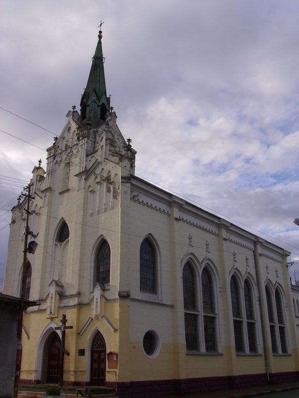 Греко - католический  храм  в  Стрыю - Андрей  Васильевич Коляскин