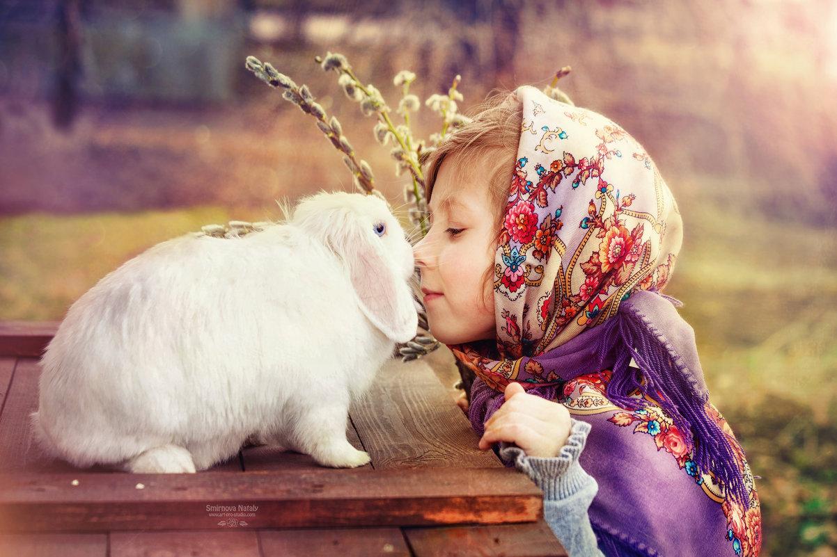 """""""Маленькое счастье с голубыми глазами"""" - Фотохудожник Наталья Смирнова"""
