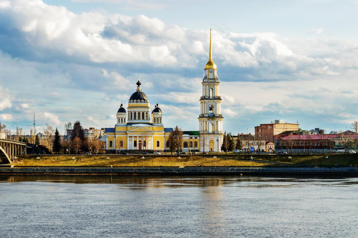 Город Рыбинск, Спасо-Преображенский собор - Nadia Brusnikova