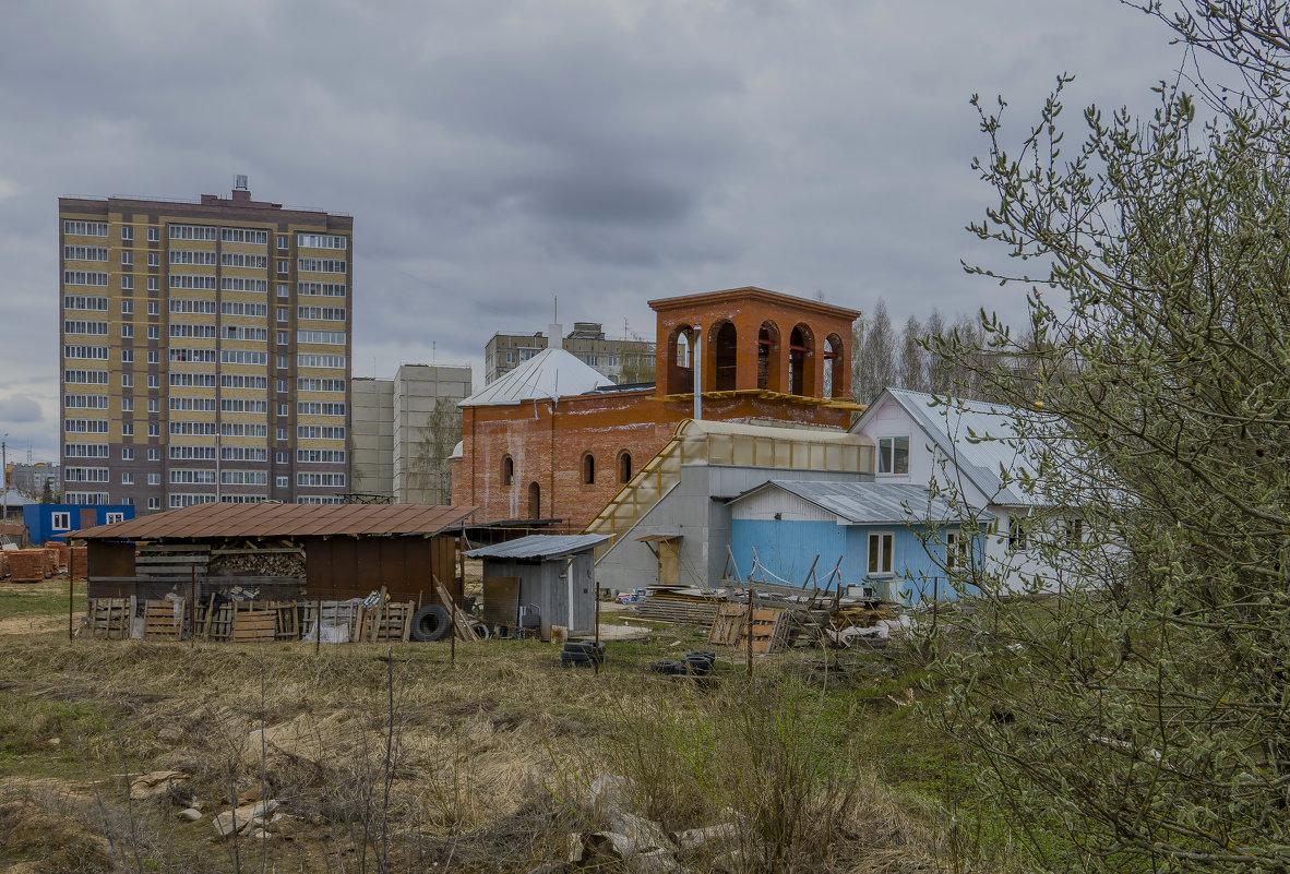 """Строительство храма """"40 Севастийский мучеников"""" в г. Конаково. (Можно не оценивать) - Михаил (Skipper A.M.)"""