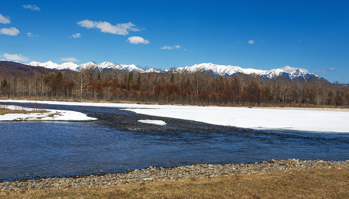 Реки Сибири. Река Зун-Мурино - Анатолий Иргл