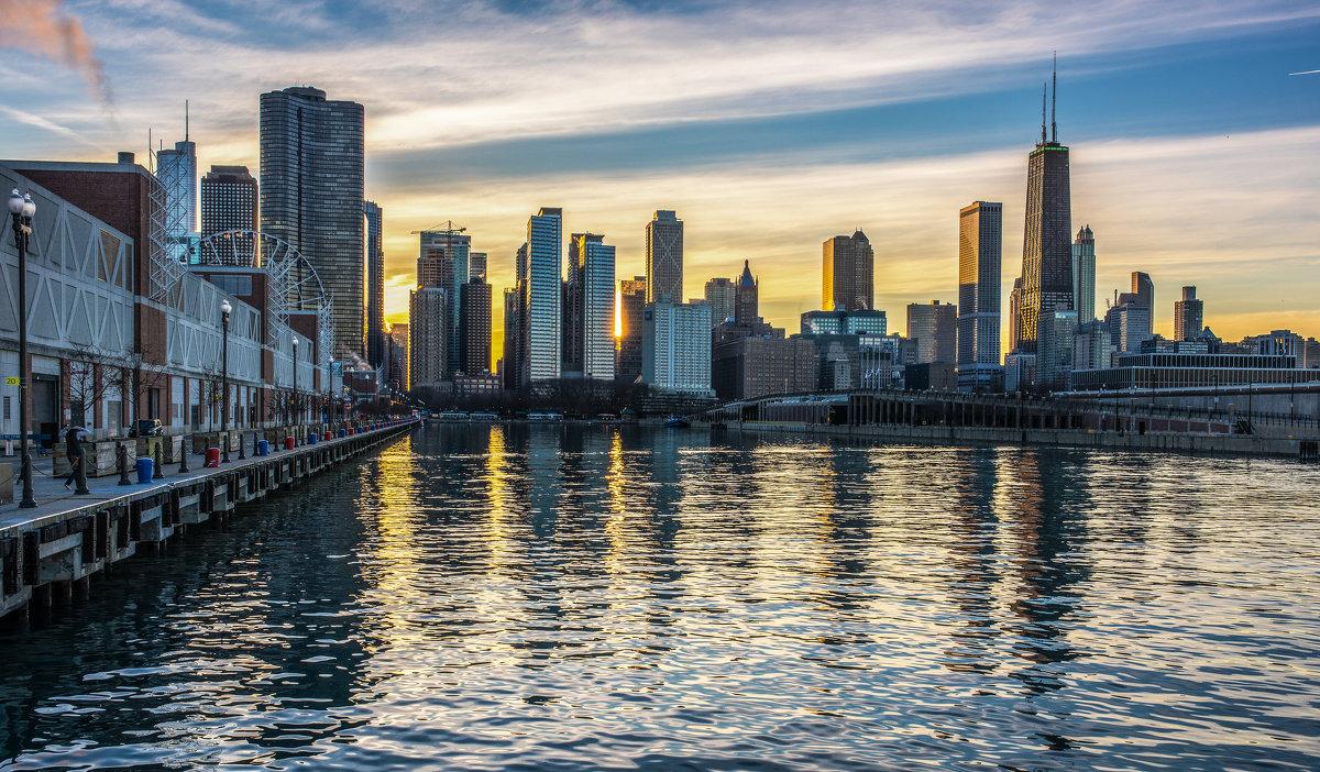 Закат в Чикаго - Лёша
