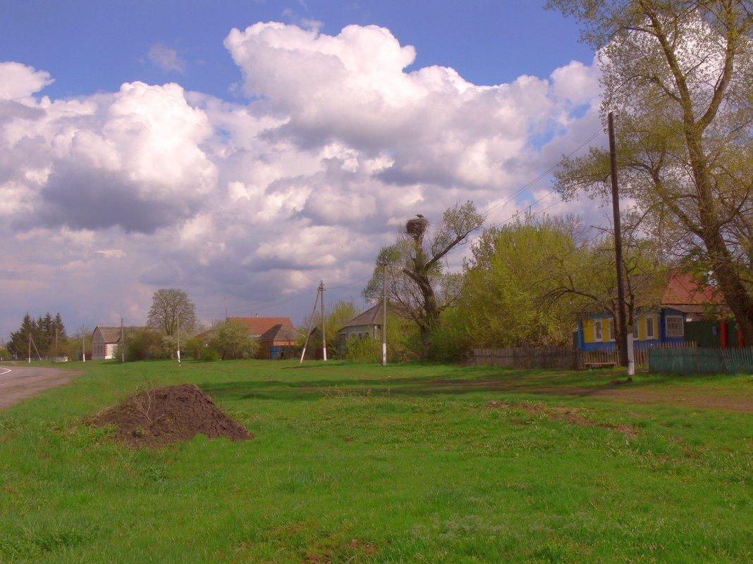Весна в селе. - Татьяна Черняева