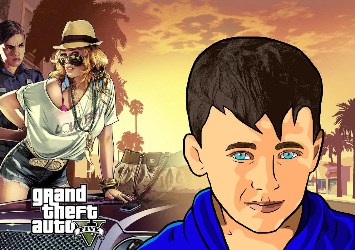Обработка в стиле GTA San Andreas - Артём Кыштымов