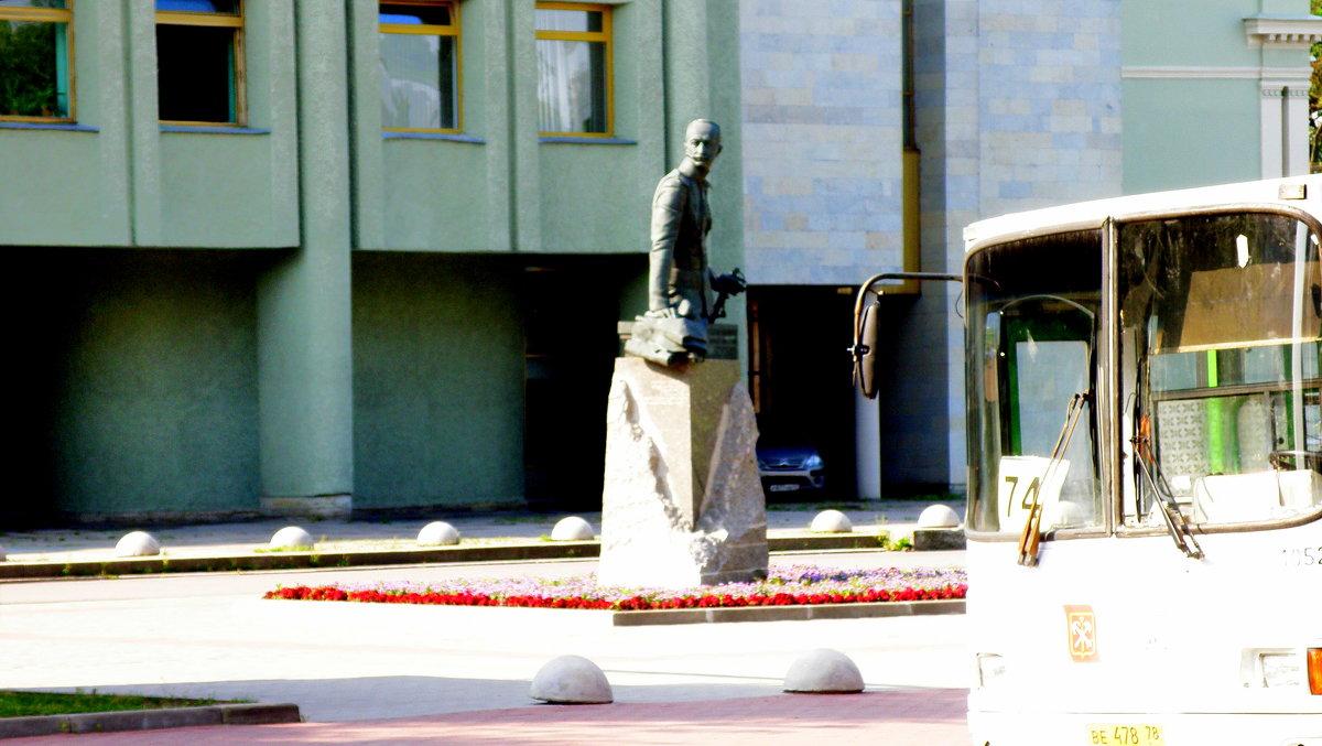 Памятник А.А.Брусилову на Шпалерной - Сергей