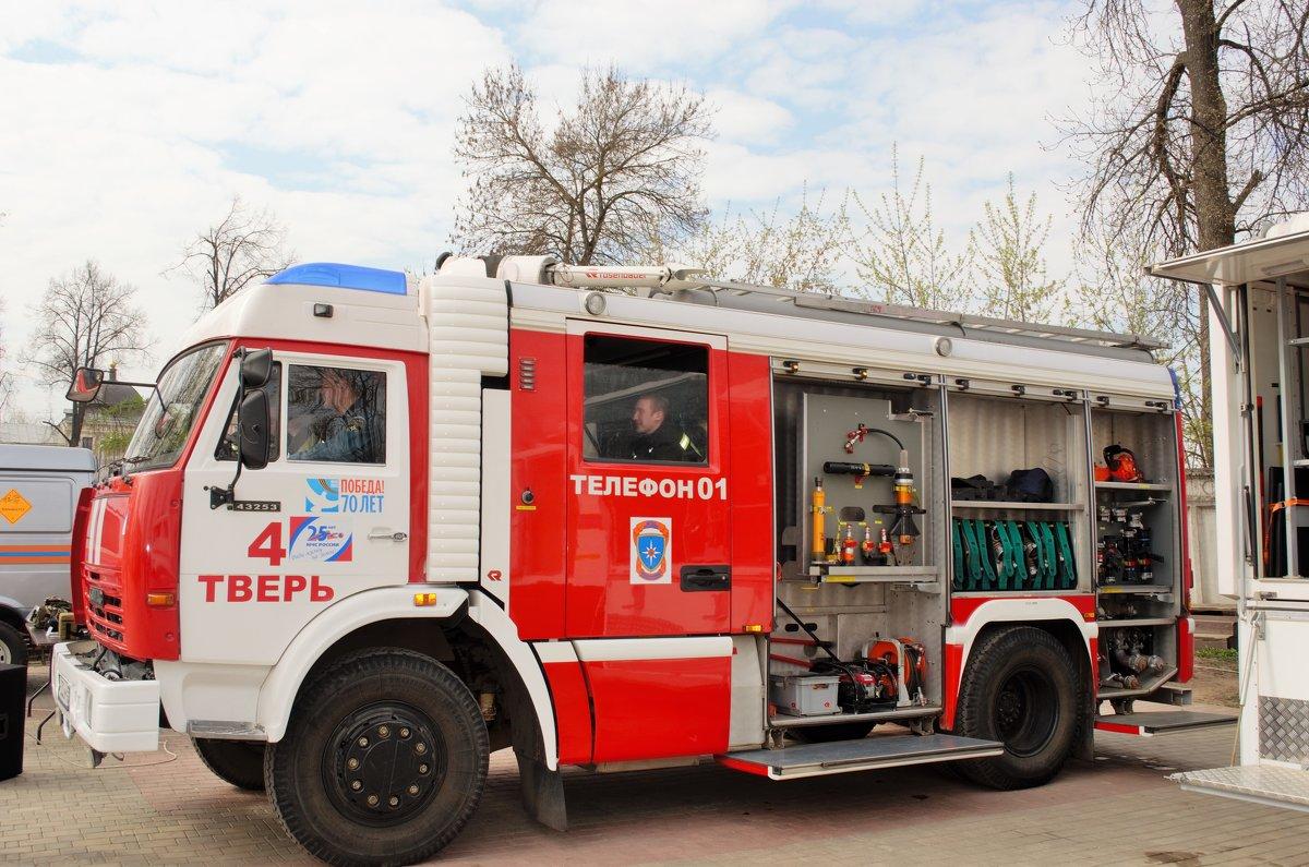 Современная техника пожаротушения - Иван Нищун