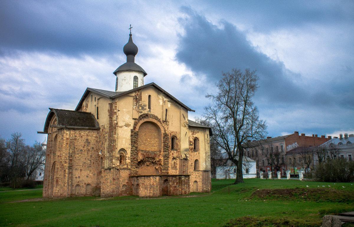 Церковь Параскевы Пятницы в Великом Новгороде (1207 год) - Арина Зотова