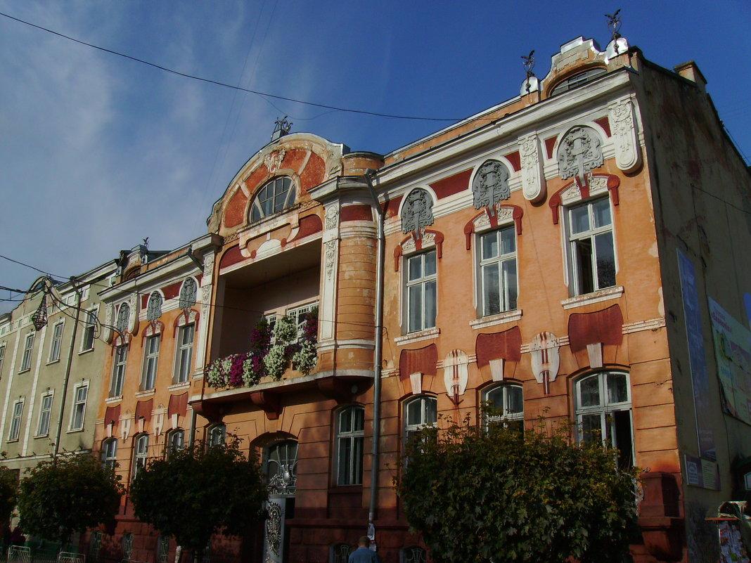 Городская  больница  в  Стрыю - Андрей  Васильевич Коляскин