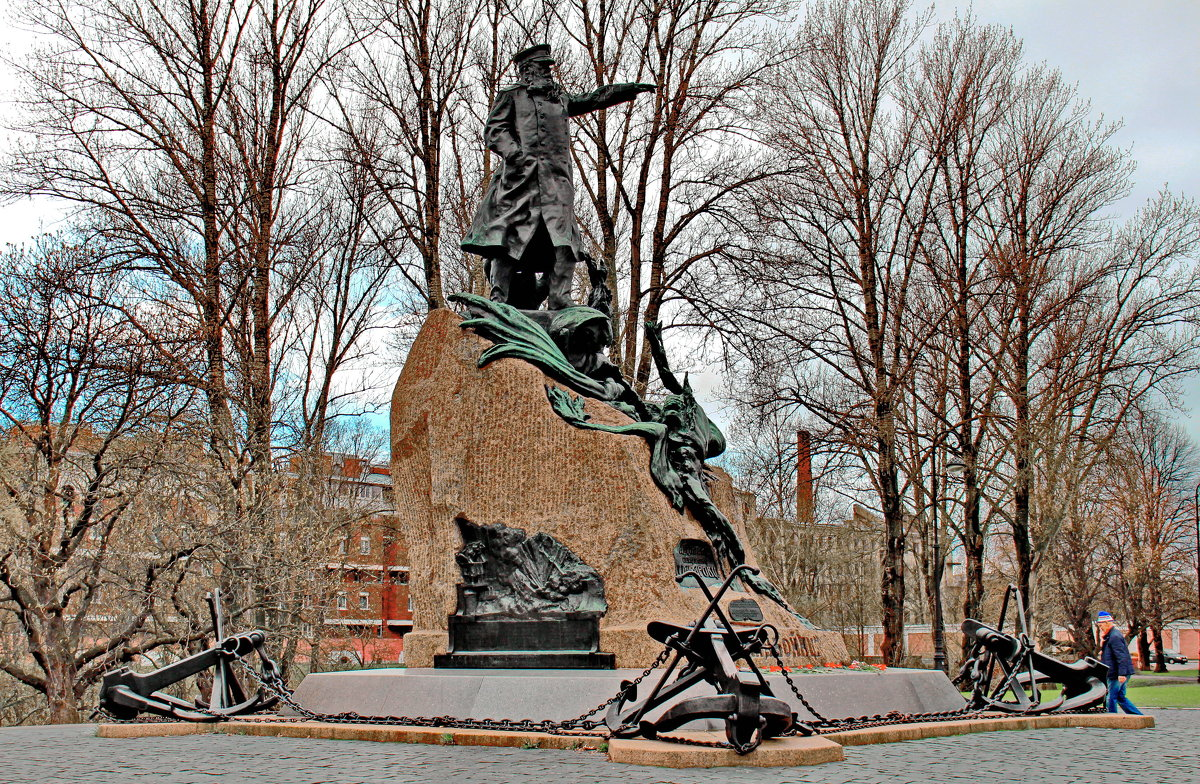 Памятник адмиралу Макарову - Олег Попков