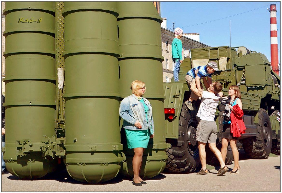 Девушка с ракетами... - Кай-8 (Ярослав) Забелин
