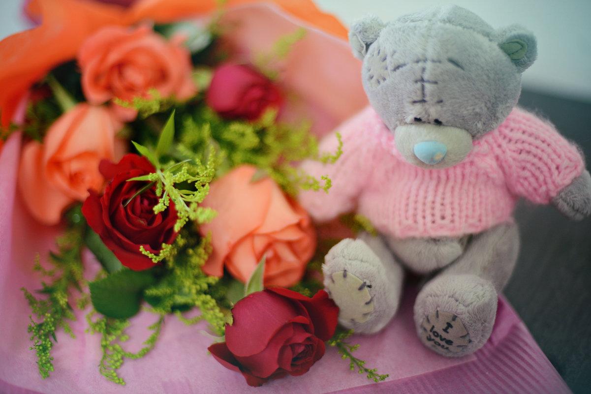 Букет шикарных роз - Карина Заика