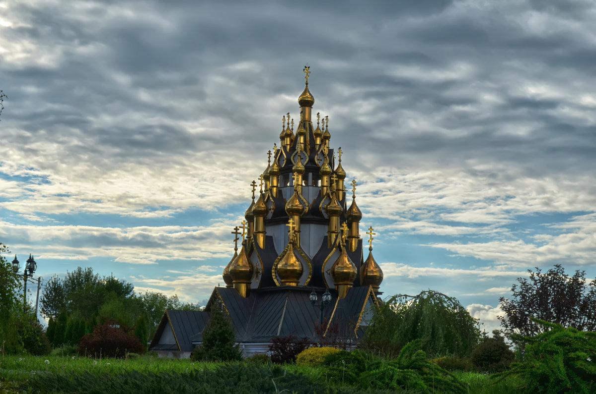 Храм Преображения, в котором 33 купола по годам жизни Христа - Marina Timoveewa