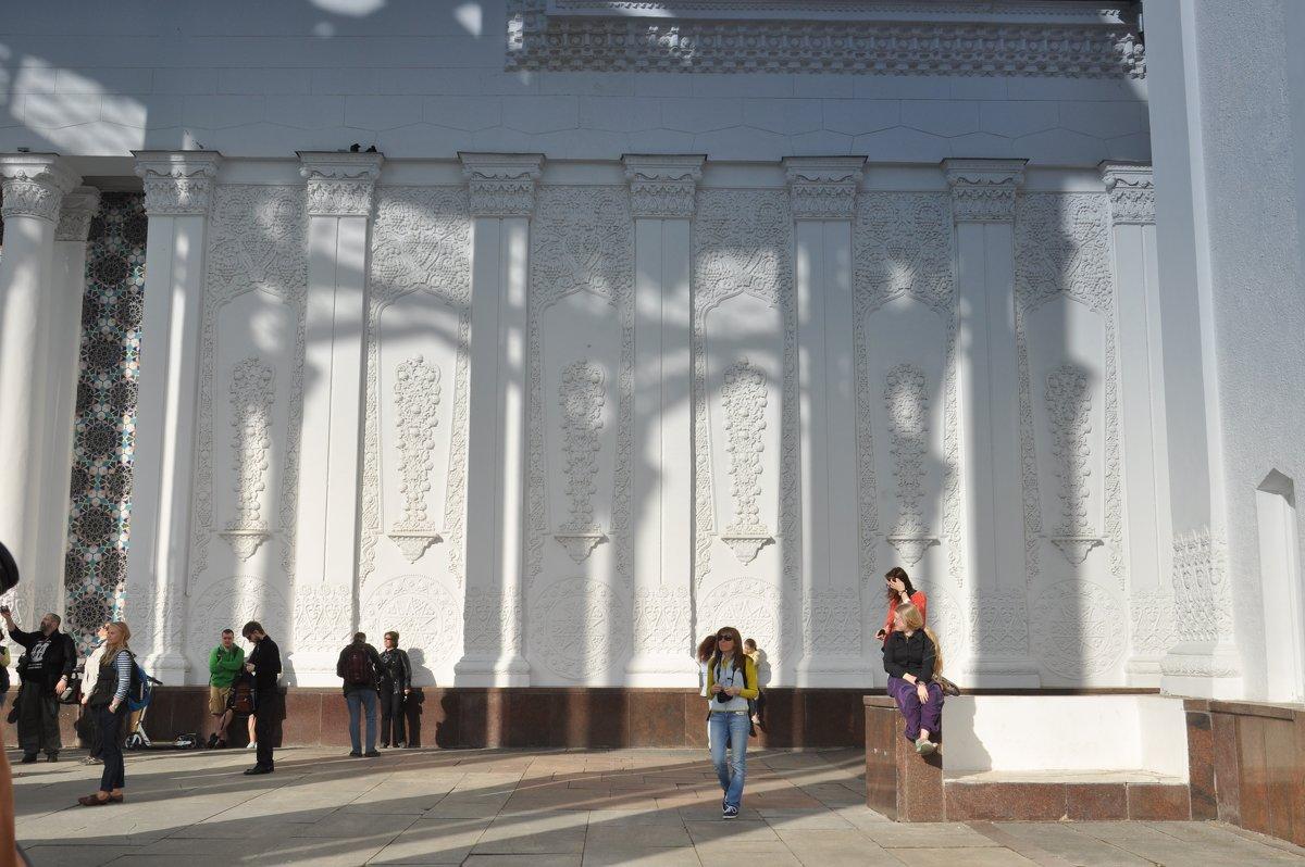 узбекский павильон - елена